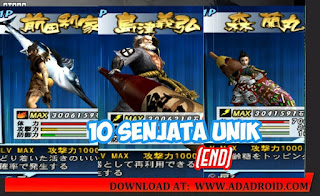 Download Game Basara 2 Heroes Apk+Data