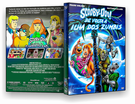 DVD SCOOBY-DOO - DE VOLTA À ILHA DOS ZUMBIS - ISO