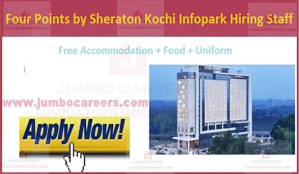 Sheraton hotel careers Kochi, Marriott Hotel Job salary in Kochi 4