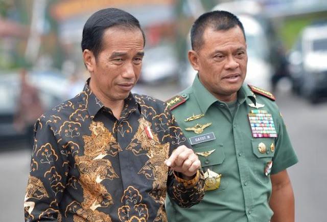 Jenderal Gatot Ingatkan Prajurit TNI Jaga Netralitas di Pilpres 2019