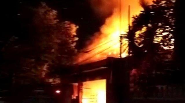 Satu Perempuan & Pembantunya Berhasil Selamat berdasarkan Kebakaran Rumah dan Toko di Denpasar Timur