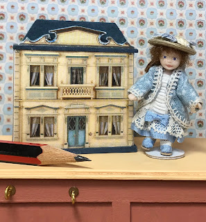 Toy doll & dolls house ~ Where Small Things Live