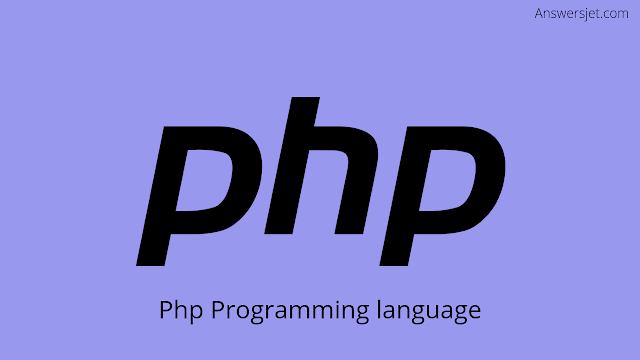 What is programming language?PHP Most used programming languages