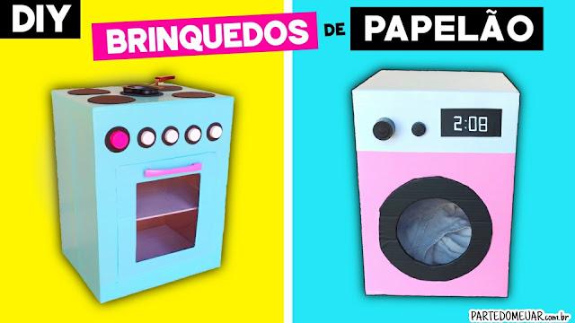 Brinquedos reciclados fáceis fazer