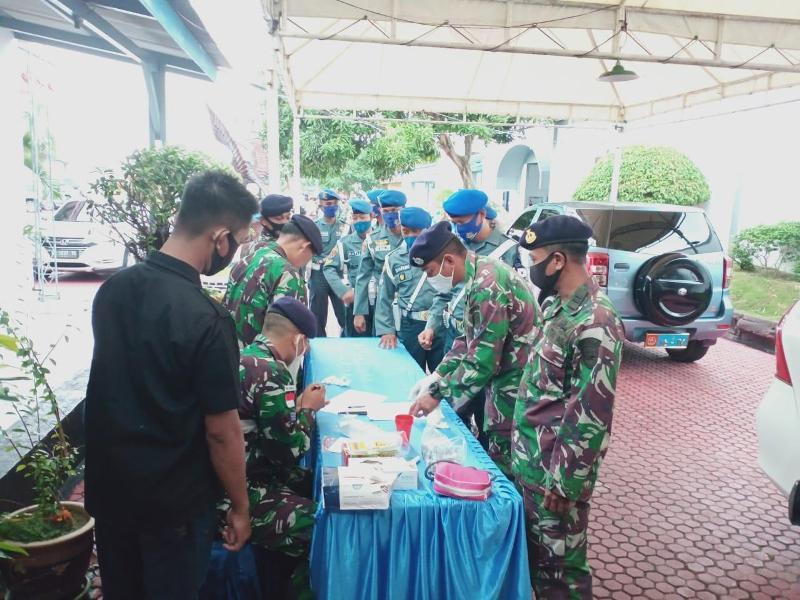 Lanal TBK Sidak Prajurit dan PNS Tes Narkoba