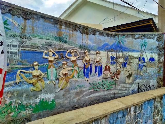 Relief Penari Banyuwangi