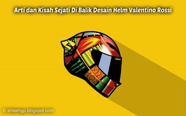 Arti dan kisah sejati di balik desain helm valentino rossi Arti dan Kisah Sejati Di Balik Desain Helm Valentino Rossi