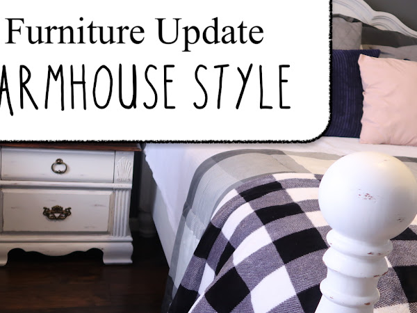 Farmhouse Style Furniture Makeover | Master Bedroom Update
