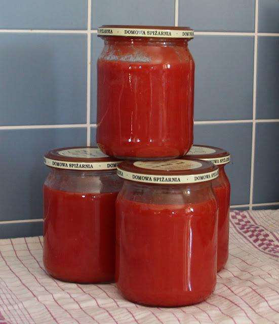 Passata pomidorowa na zimę
