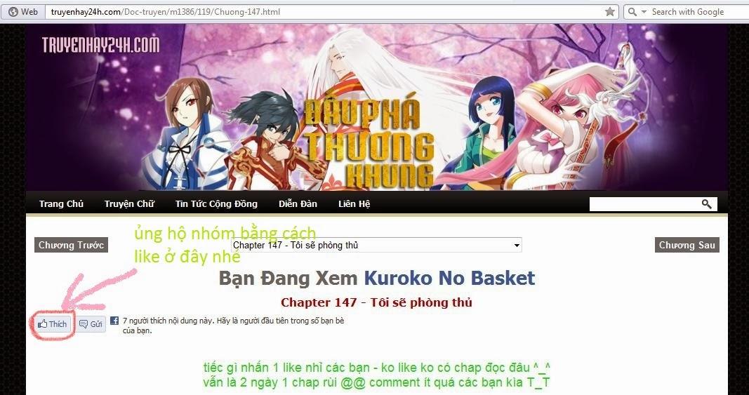 Kuroko No Basket chap 157 trang 1