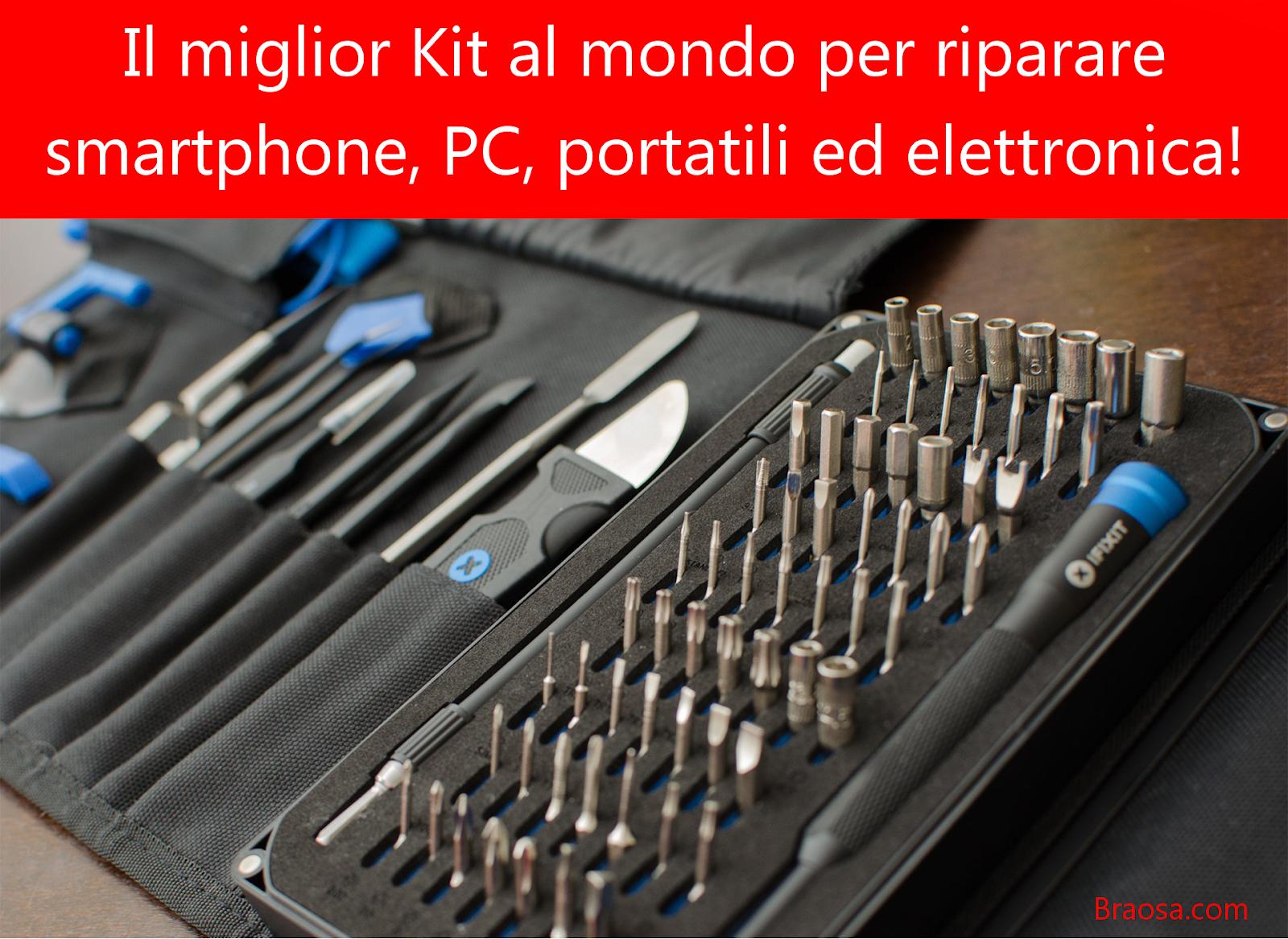 Il kit di riparazione elettronica migliore e più completo al mondo
