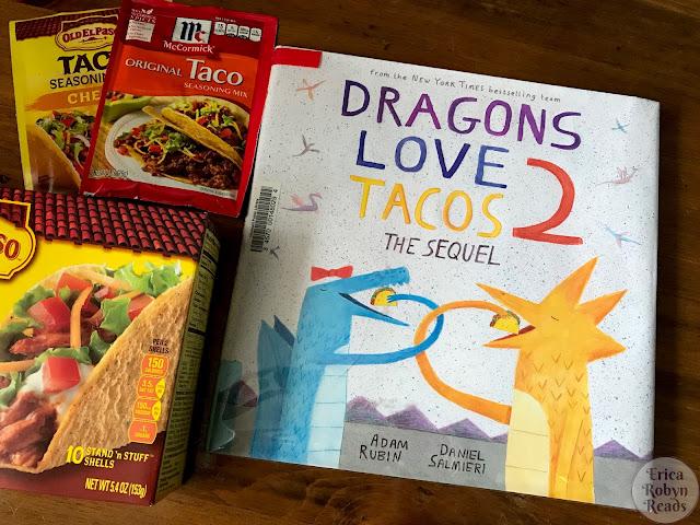 Book Review of Dragons Love Tacos 2 by Adam Rubin & Daniel Salmieri