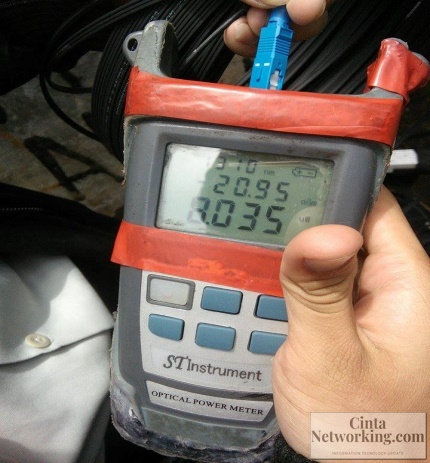 Cara Mudah Pengukuran Kabel Fiber Optic Dengan Optical Power Meter (OPM) - Cintanetworking.com