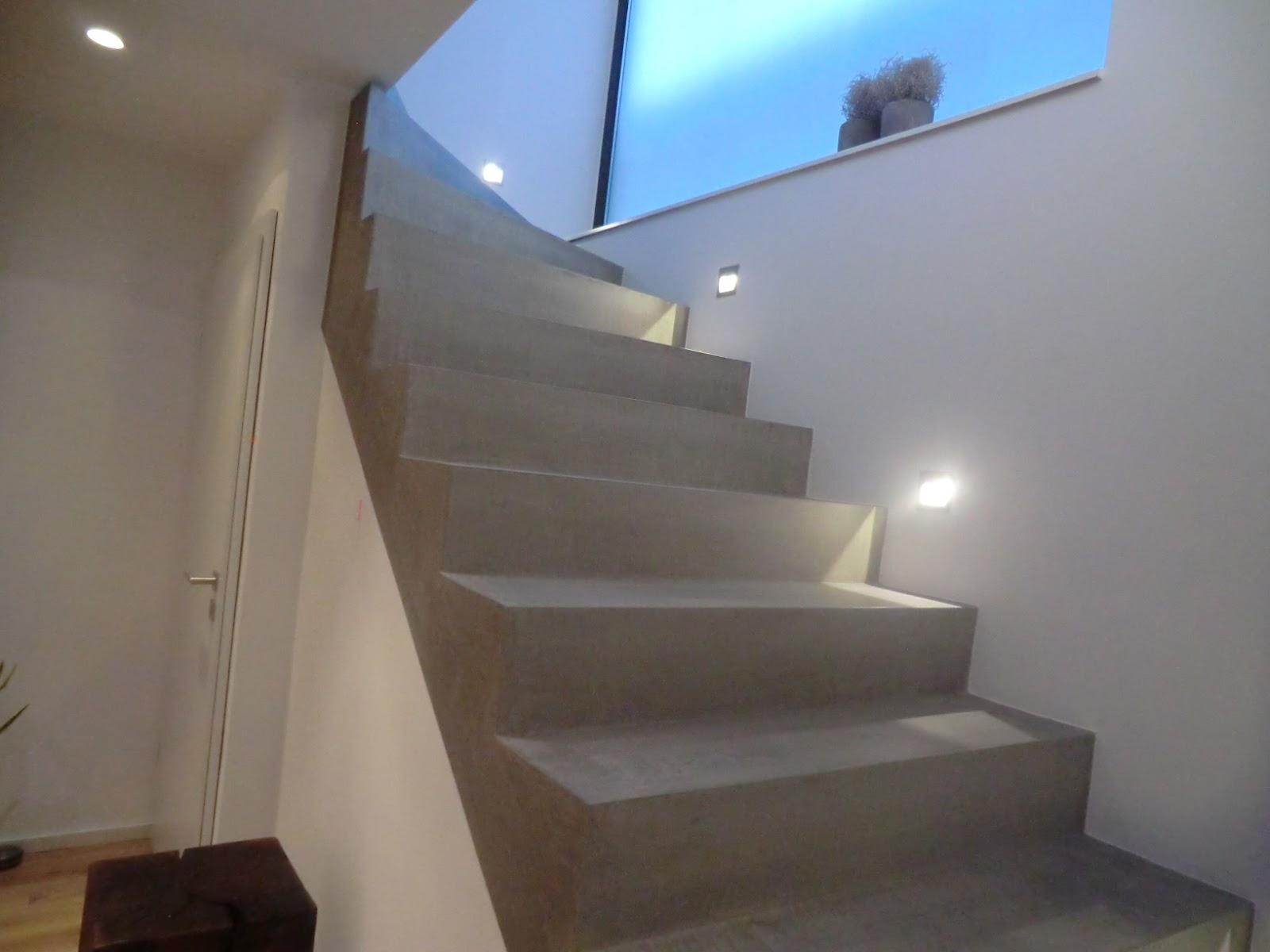 Vinyl betonoptik treppe u wohn design
