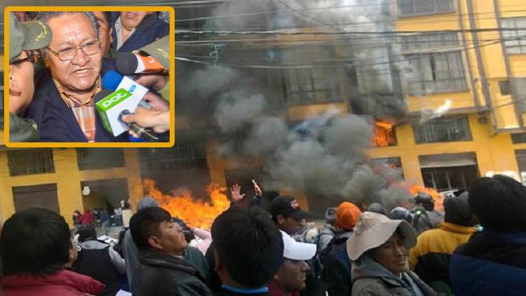 Rocha es señalado como impulsor de la violencia del 17 de febrero de 2016 / ARCHIVO MONTAJE
