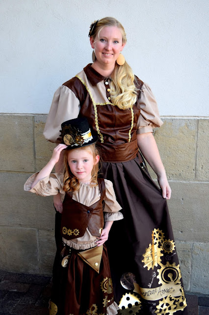 Create your own DIY steampunk costumes for the entire family with these easy to follow tutorials and great products from Cricut.