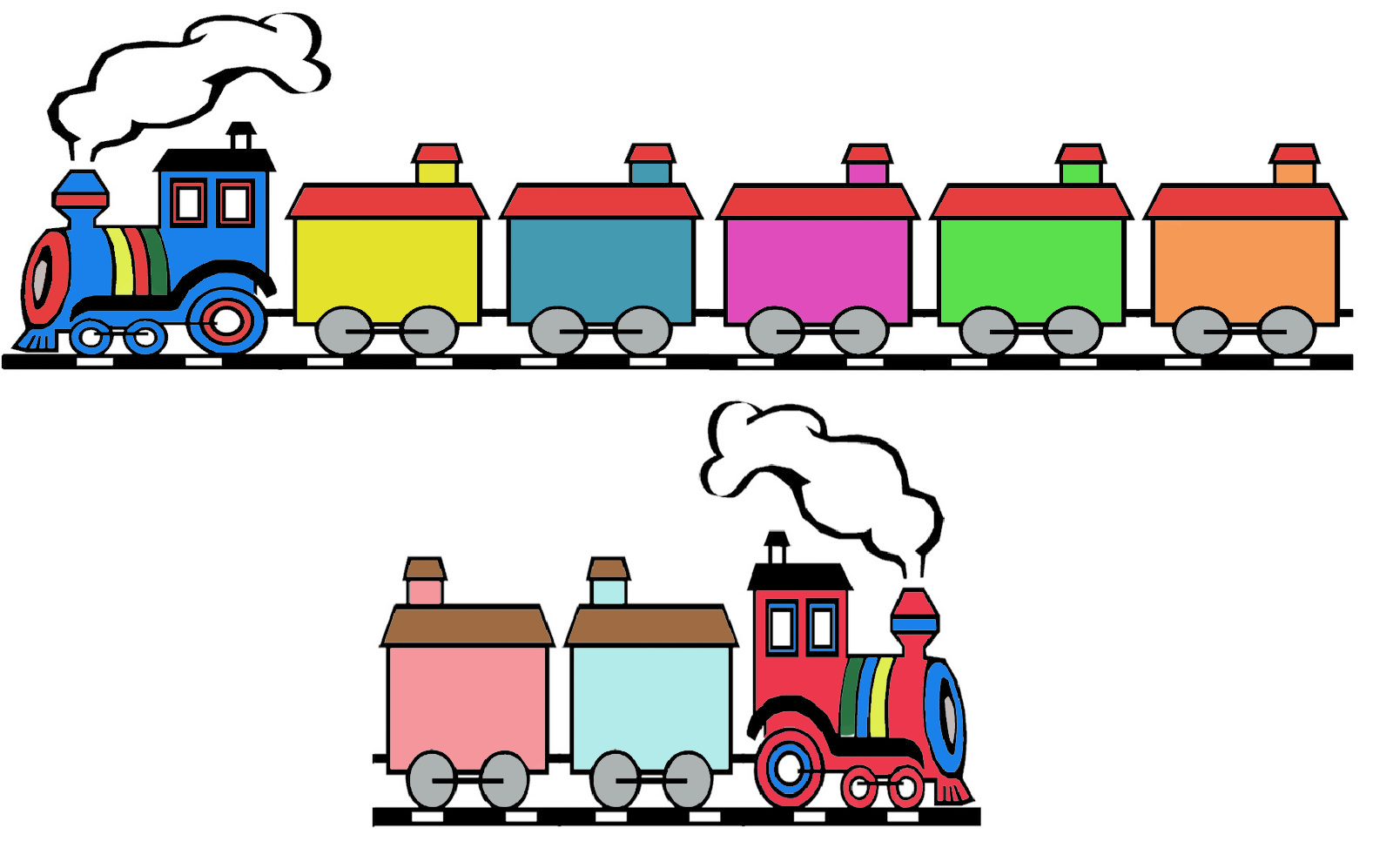 Tren De Los Meses Del Año Para Colorear Imagui