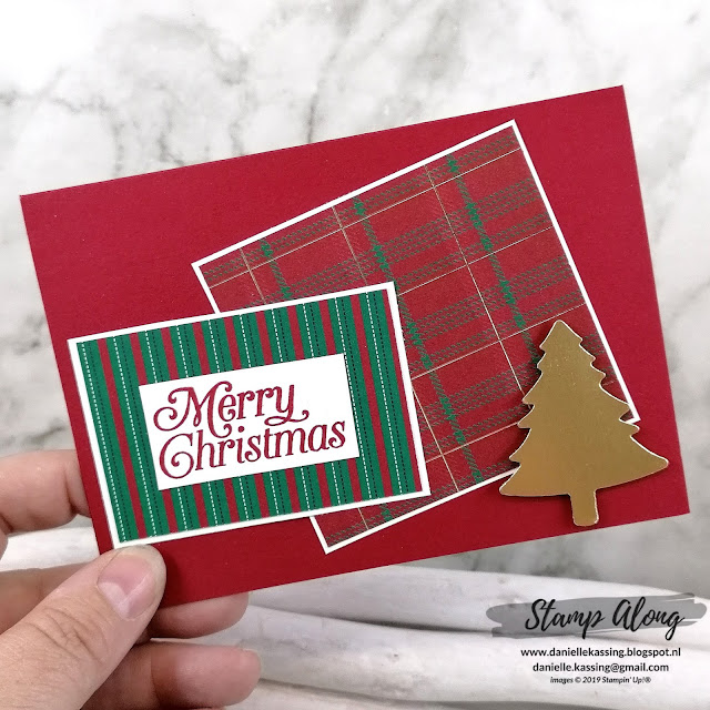 Stampin' Up! Perfectly Plaid bundle