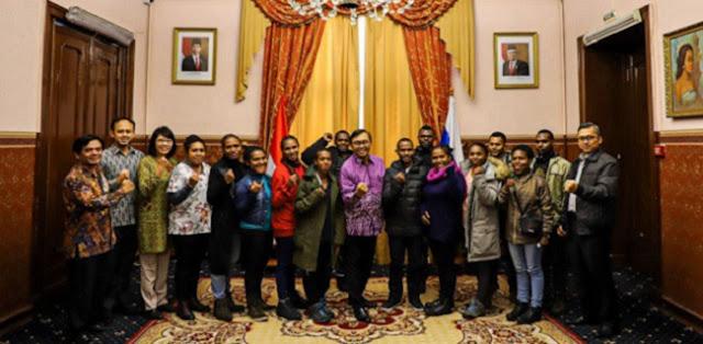Ini 14 Putra-Putri Papua Peroleh Beasiswa Ke Rusia