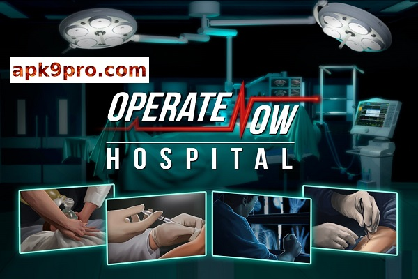 Operate Now Hospital 1.35.4 Apk + Mod + Data (File size 400 MB) for android
