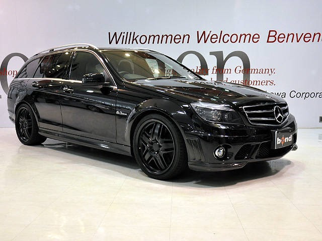 Benztuning mercedes benz c63 amg wagon black w204 for Mercedes benz c63 amg wagon