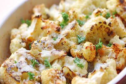Parmesan Roasted Cauliflower Recipes