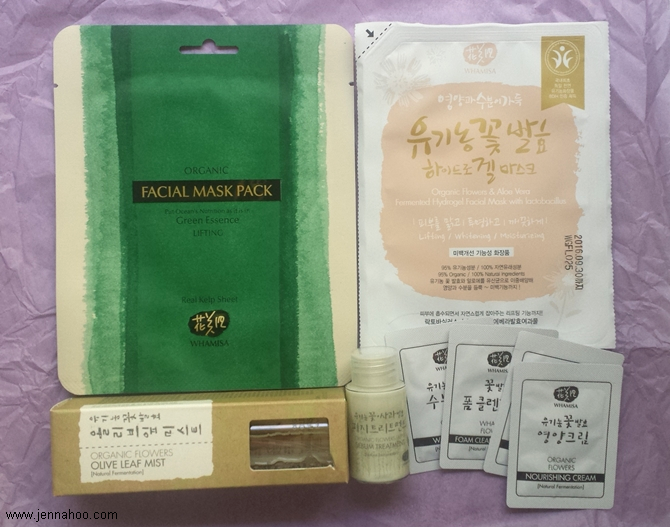 Unboxing: Inspire Me Korea x Whamisa Beauty Box