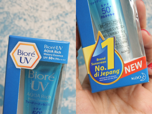 Review Biore UV Aqua Rich Sunscreens
