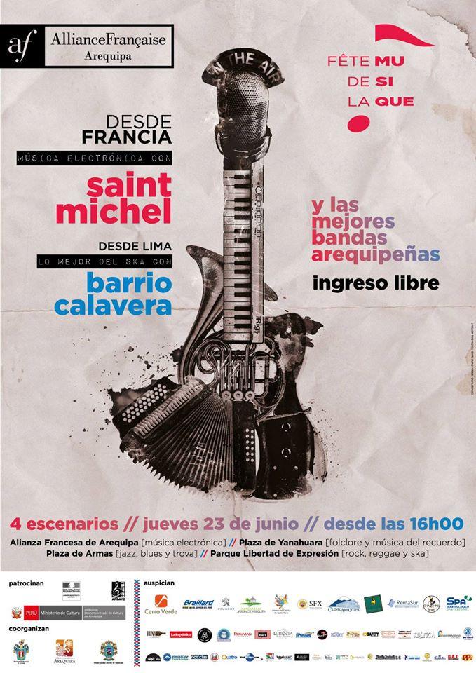 La Fiesta de música, (Fête de la Musique) - 23 de junio