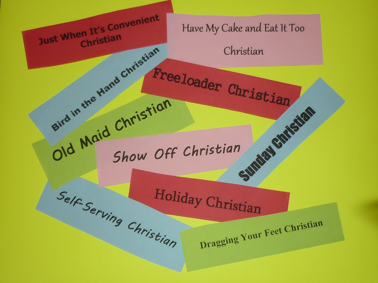 Link to Types of Christians Blog