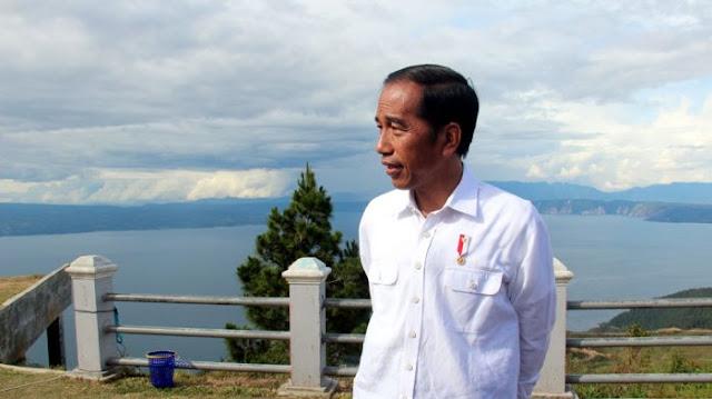 Jokowi Sebut Danau Toba Menjadi Kawasan Wisata Kelas Super