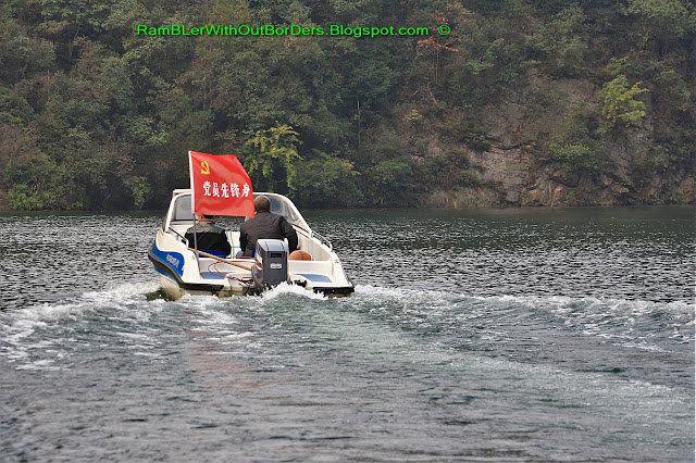Motor boat for Communist cadre