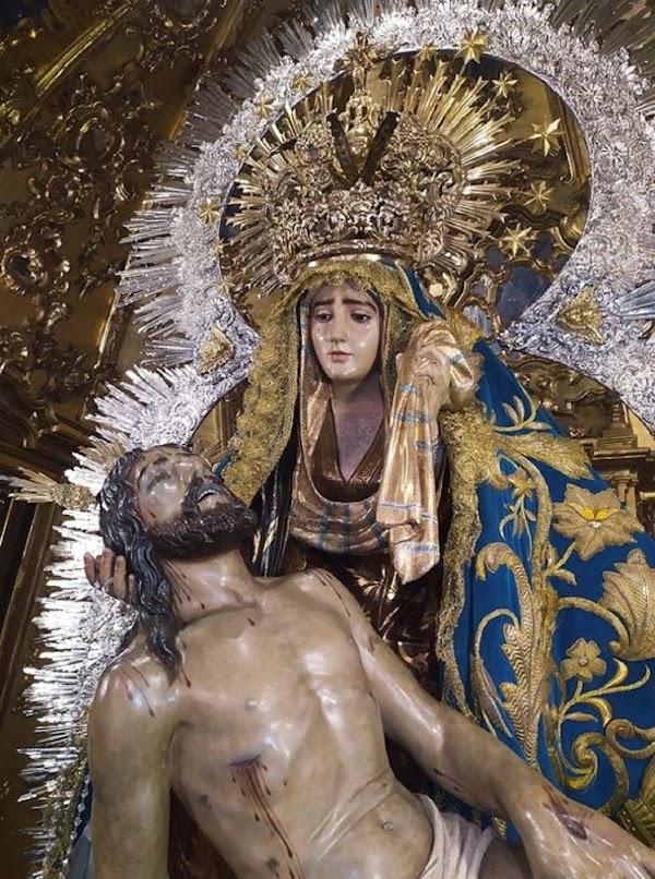 Programa de actos y cultos por el CCLXV Aniversario del Patronazgo de la Virgen de las Angustias de Ayamonte.