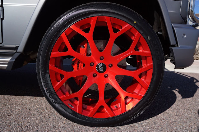 forgiato red wheels