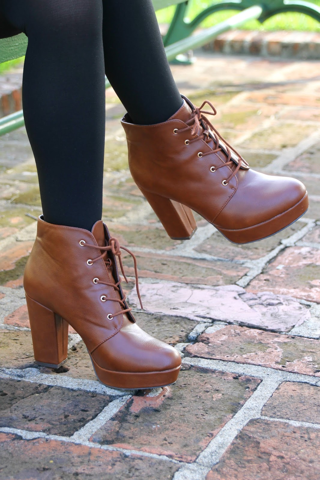 hazelnut heels booties fall lookbook
