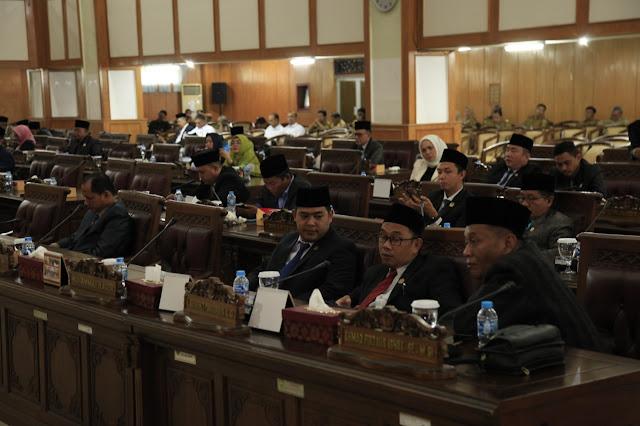 DPRD Sumsel Lanjutkan Pembahasan 7 Raperda Usulan Pemprov