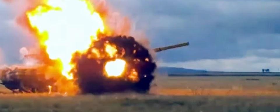 Росія показала відео випробувань активного захисту танків