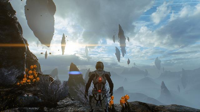 لعبة Mass Effect تكشف عن العرض الأول للعبة