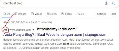 iklan googlepencarian