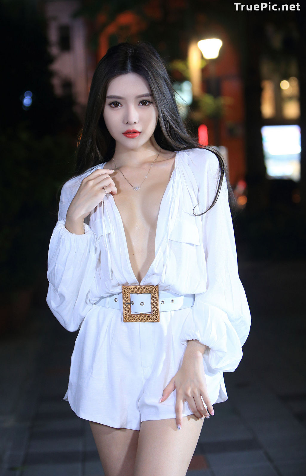 Image Taiwanese Model – 莊舒潔 (ViVi) – Sexy and Pure Baby In Night - TruePic.net - Picture-25