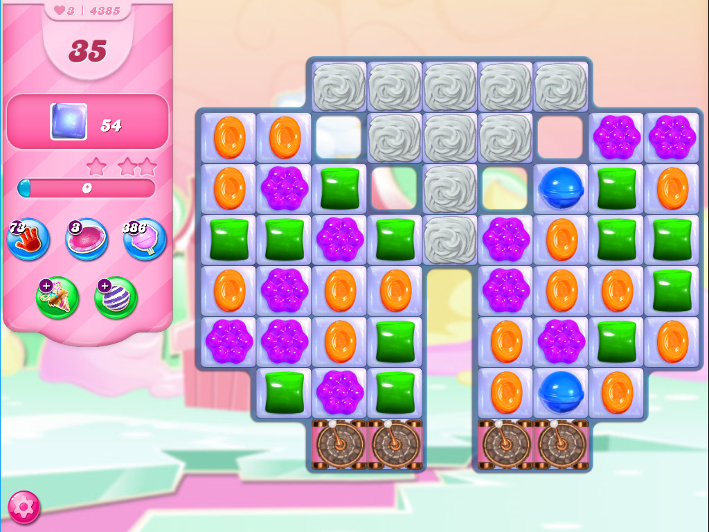 Candy Crush Saga level 4385