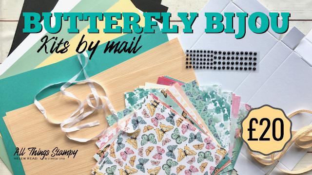 Craft Kits Stampin Up Butterfly Bijou