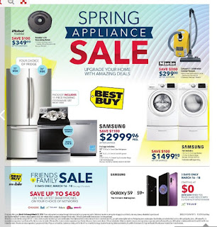 Best Buy Flyer Weekly - Spring Appliance Sale Valid Friday March 16 – Thu March 22