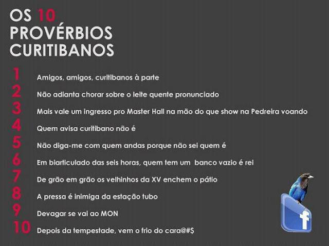 Provérbios de Curitibanos