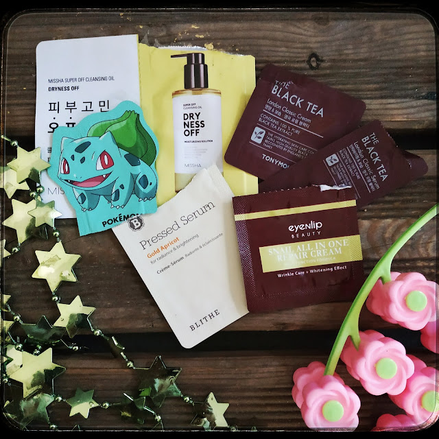 Testuję sample koreańskich kosmetyków - cz. 1