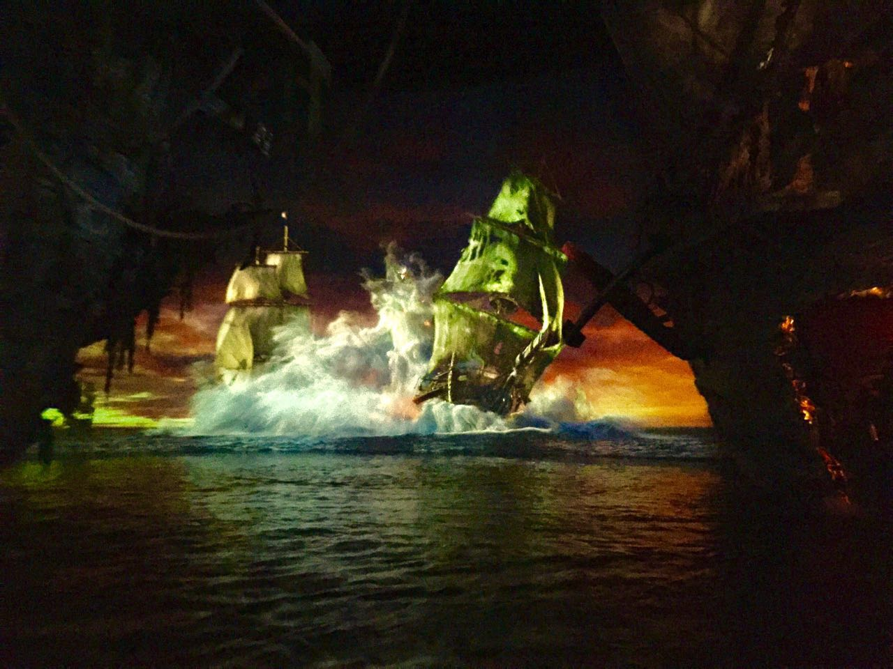 Shanghai Disneyland Pirates of the Caribbean