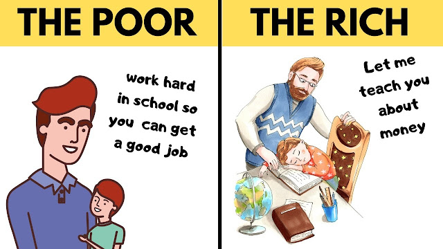 THINGS THE RICH TEACH THEIR CHILDREN THAT THE POOR DON'T