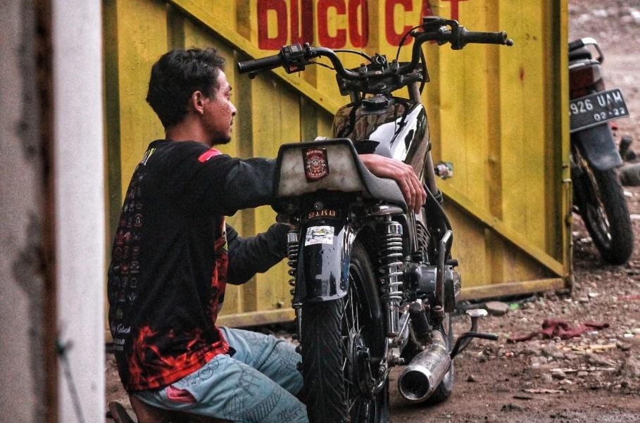 motor rx king bekas