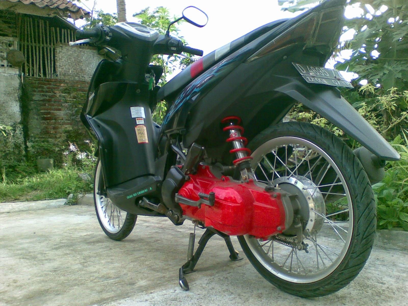 Kumpulan Foto Modifikasi Motor Spin Terbaru Modispik Motor