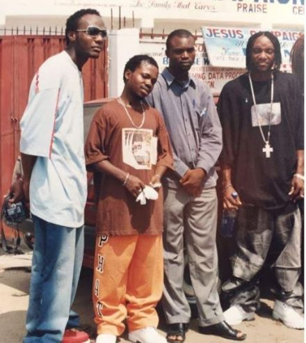 Check out this major throwback photo of Kcee, E-money and Presh